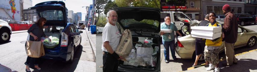 Volunteer for Food Runners San Francisco